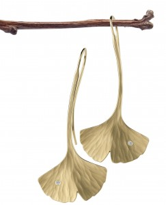 Ginkgo Earrings long w dias on branch (m-res)
