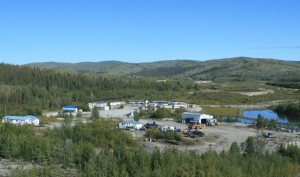 Mammoth Tusk Gold camp, Yukon Terr