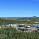 Mammoth Tusk Gold mine, Yukon Terr