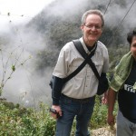 With Nelson Fernandez, Cotapata Cooperative